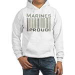 Marines Proud Military Hooded Sweatshirt