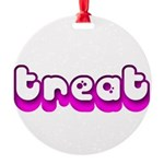 Retro Treat Round Ornament