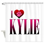 I Heart Kylie Shower Curtain