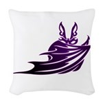 Vampire Bat 2 Woven Throw Pillow