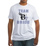 Celebrate Team Bride Fitted T-Shirt