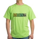 Elements of Scuba Green T-Shirt