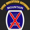 SSI - 10th Mountain Division with Text Women's Lon
