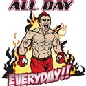 All Day Every Day MMA White T-Shirt