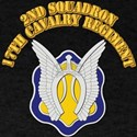 DUI - 2nd Squadron - 17th Cavalry Regt with Text D