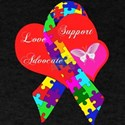 Interlaced Autism Ribbon T-Shirt
