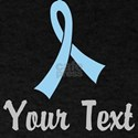 Personalized Light Blue Ribbon Awaren T-Shirt