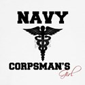 Navy Corpsman's Girl Women's Long Sleeve T-Shirt