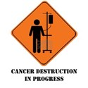 cancer destruction in progres T-Shirt