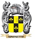 Simonetto Coat of Arms - Family Crest T-Shirt