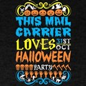 This Mail Carrier Loves 31st Oct Halloween T-Shirt
