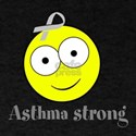 personalizable Asthma Smiley T-Shirt