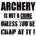 Archery Is not a crime Unless you're White T-Shirt