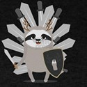 Medieval Sloth Knight with swords T-Shirt