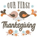 Our First Thanksgiving White T-Shirt