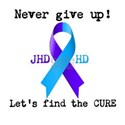Never Give Up! Let's Find The Cure! White T-Sh