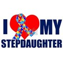 Autism Stepdaughter White T-Shirt