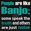 People are like Banjo T-Shirt