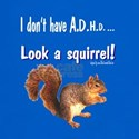 A.D.H.D. Squirrel