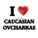 I love Caucasian Ovcharkas T-Shirt