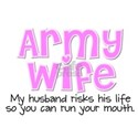 10 Things - Army Wife Women's T-Shirt