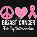 Breast Cancer Sister In Law T-Shirt