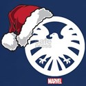 SHIELD Logo Santa T-Shirt