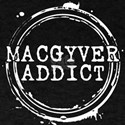 MacGyver Addict Stamp T-Shirt