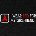 Red Ribbon: Red for my Girlfriend T-Shirt