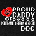 Proud Daddy Of Wire Fox Terrier Dog T-Shirt