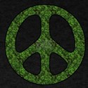 Green Leaf Peace Sign T-Shirt