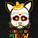 Cinco De Meow Cat T-Shirt
