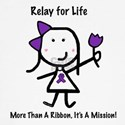 Purple Ribbon - Relay for Life
