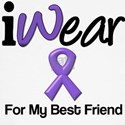 I Wear Purple For My Best Friend T-Shirts & Gifts