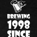 Brewing Since 1998 Beer Fathers Day Gift T-Shirt