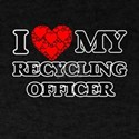 I Love my Recycling Officer T-Shirt