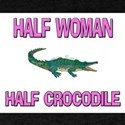 Half Woman Half Crocodile T-Shirt