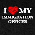 I Love my Immigration Officer T-Shirt