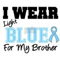 I Wear Light Blue (Brother) T-Shirts