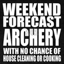 Weekend Forecast Archery T-Shirt