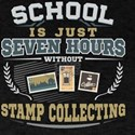 School is just Seven hours without Stamp C T-Shirt