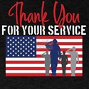Thank You For Your Service Patriotic Veter T-Shirt