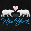 New York Polar Bear Heart T-Shirt