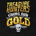 Treasure Hunting Hunters Detectors Geocach T-Shirt