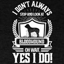 I Don't Always Stop and Look At Bloodh T-Shirt