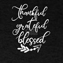 ThanksgivingThankful Grateful Blessed Tren T-Shirt