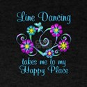 Line Dancing Happy Place T-Shirt