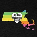 Massachusetts - All Are Welcome Here T-Shirt
