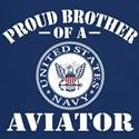Proud Brother of a Navy Aviator T-Shirt