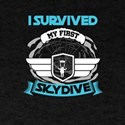 I Survived My First Skydive Extreme Sports T-Shirt